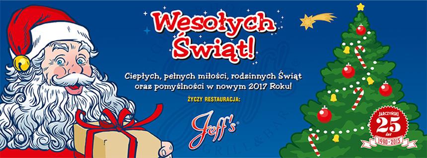 Jeff's. American Restaurant - Newsletter!